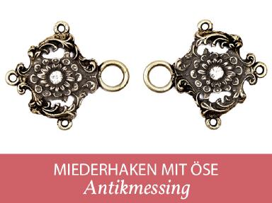 Miederhaken Oese gold